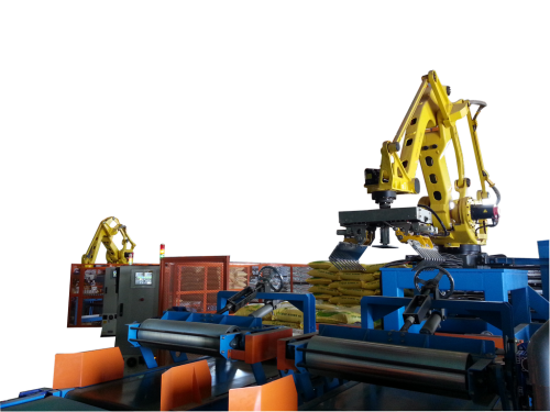 飼料包疊棧機器人