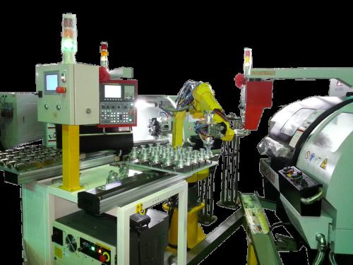 加工機自動上下料機器人