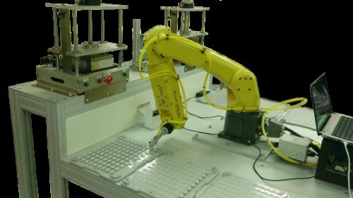 機器人晶片模組檢測