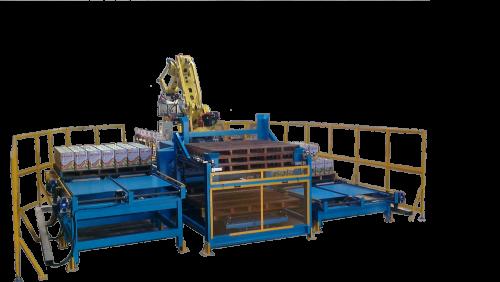 油桶搬運堆疊棧板機器人