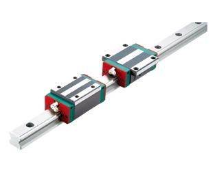 QE系列-靜音式低組裝型滾珠線性滑軌