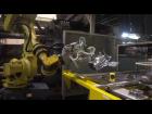 機器人壓鑄機植入取出工件